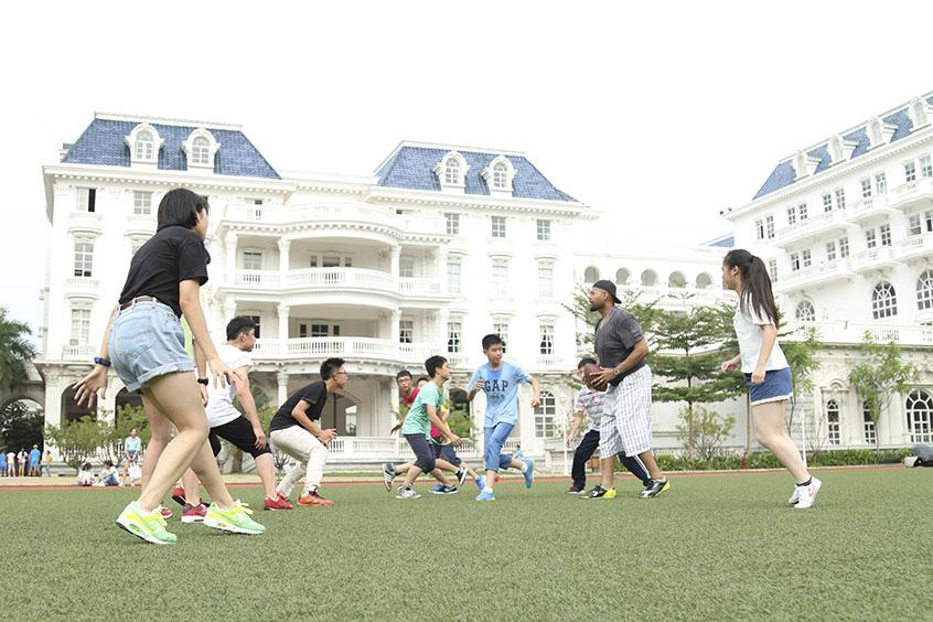 珠海市女子中学操场