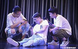 平和英语舞台  入门班同学的精彩演绎